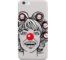 Red Nose - Keep Smiling iPhone Case/Skin