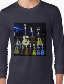 While My Guitar Gently Weeps Long Sleeve T-Shirt