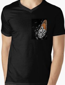 Leopard print shoe fetish Mens V-Neck T-Shirt