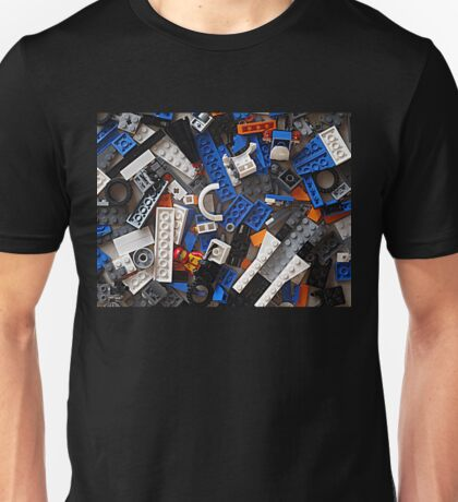 Mind where you tread, Lego, Lego, Lego everywhere Unisex T-Shirt
