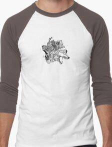 Beast Try to Fest  Men's Baseball ¾ T-Shirt