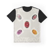 Dreamtime Roses  Graphic T-Shirt