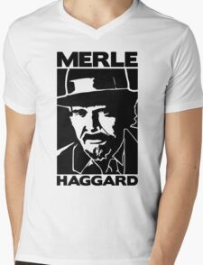 R.I.P MERLE HAGGARD Mens V-Neck T-Shirt