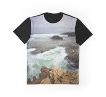 Pearces Beach Graphic T-Shirt