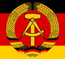 GDR Flag Sticker