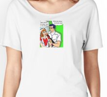Pop art doctors and nurses, hospital romance Women's Relaxed Fit T-Shirt
