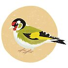 Goldfinch by threeblackdots