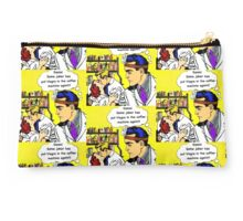 Doctors, nurses, love, viagra, pop art hospital romance Studio Pouch