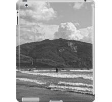 Zakynthos Greek sandy beach Island  iPad Case/Skin