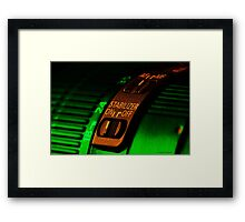 Lens art 001 Framed Print