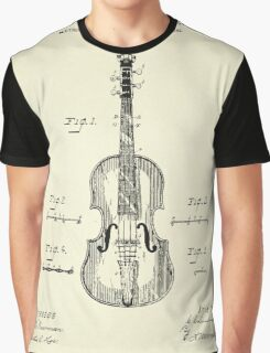Method of Improving the Tone of Violins-1888 Graphic T-Shirt