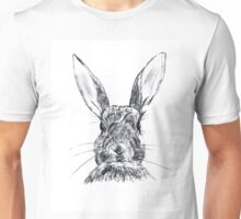 Rabbit ilustration Unisex T-Shirt