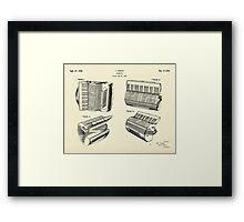 Accordion-1938 Framed Print