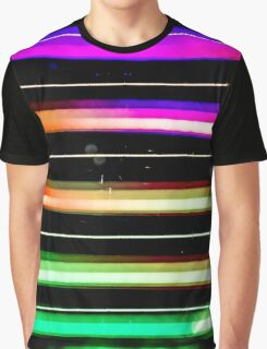 Light Stripes #1 Graphic T-Shirt