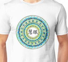 Blue Insight Mandala Unisex T-Shirt
