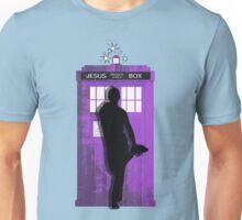 The Jesus private call box Tardis Unisex T-Shirt