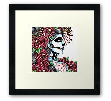 Day of the Dead Red Framed Print