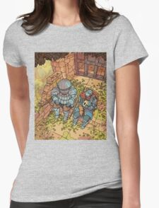 Siegmeyer of Catarina with Oscar of Astora Womens Fitted T-Shirt
