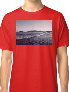 Zakynthos Greek sea shore landscape  Classic T-Shirt