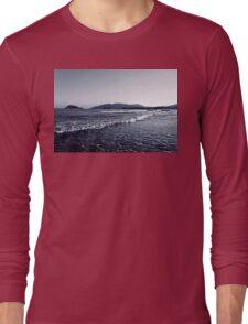 Zakynthos Greek sea shore landscape  Long Sleeve T-Shirt