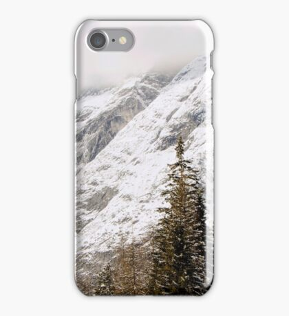 Hohe Munde Peak in Alps iPhone Case/Skin