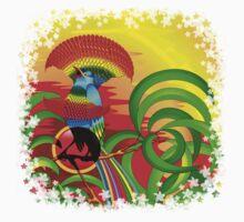Paradise Bird One Piece - Long Sleeve