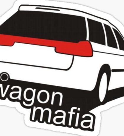 Wagon mafia Sticker