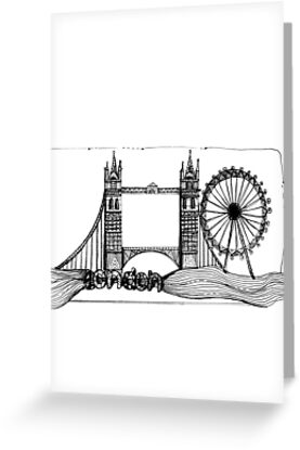 London in tangles by Jenny Wood