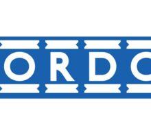London Underground Mordor Sticker