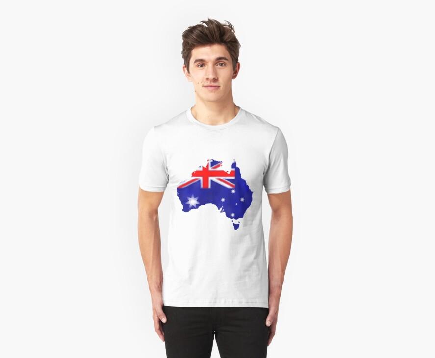 Australian Flag by Brinjen