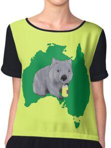Wombat Chiffon Top