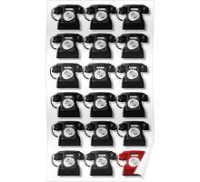 The Telephone Always Rings Twice Poster