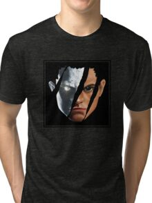Torn Tri-blend T-Shirt