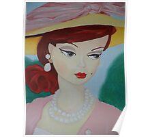 Silkstone Barbie Poster