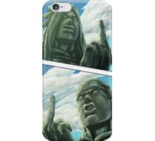 Valley of the end naruto iPhone Case/Skin