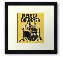 Tusken Drummer Framed Print