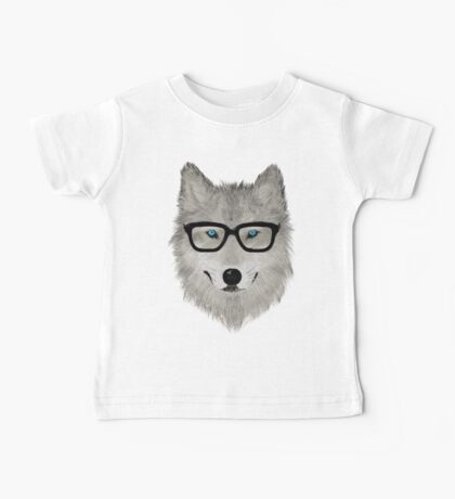Wild Animal with Glasses - V02 Baby Tee