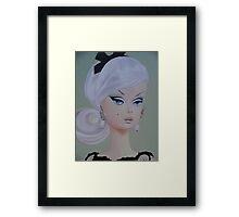 Platinum Barbie Framed Print