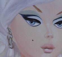 Platinum Barbie Sticker