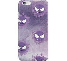 How ghastly (pattern)  iPhone Case/Skin