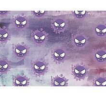 How ghastly (pattern)  Photographic Print