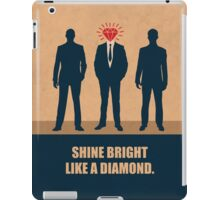Shine Bright Like A Diamond Corporate Start-up Quotes iPad Case/Skin