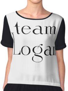 Team Logan Chiffon Top