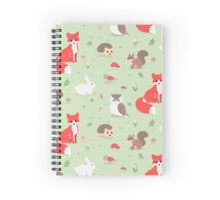 Animals of the Forest Spiral Notebook