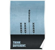 Think Different Corporate Start-up Quotes Poster