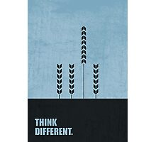 Think Different - Corporate Start-up Quotes Photographic Print