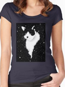Animal Anime Women's Fitted Scoop T-Shirt