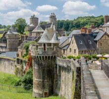Fougeres City Wall Sticker
