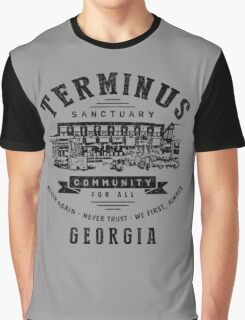Terminus Sanctuary Community (dark) Graphic T-Shirt