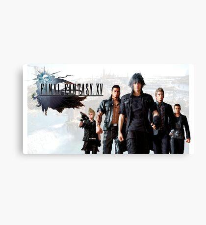 Final Fantasy XV Canvas Print